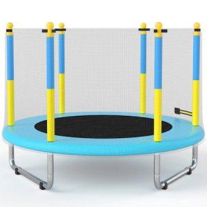Батут За деца, С външна защитна мрежа, 150 см,