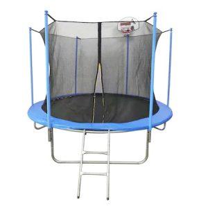Батут Mappy LV101, Защитна мрежа, Баскетболен кош, 305 см