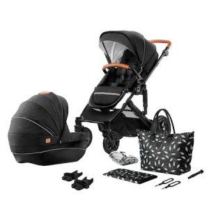 Детска количка Kinderkraft 2 in 1 Prime 2020